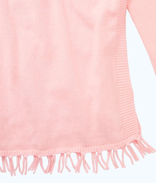 Girls Mini Ramona Sweater, Paradise Pink, large