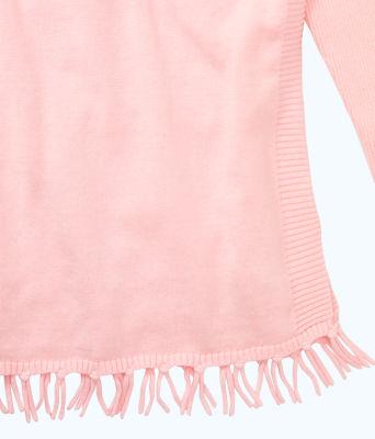 Girls Mini Ramona Sweater, Paradise Pink, large 2