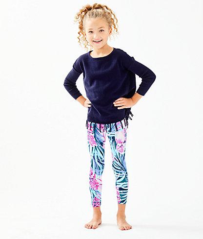 Girls Mini Ramona Sweater, True Navy, large