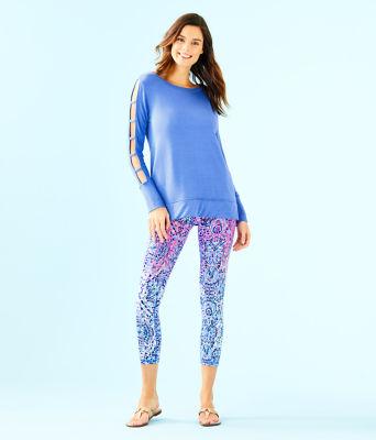 Luxletic Fresh Squeeze Pullover, Coastal Blue, large 2