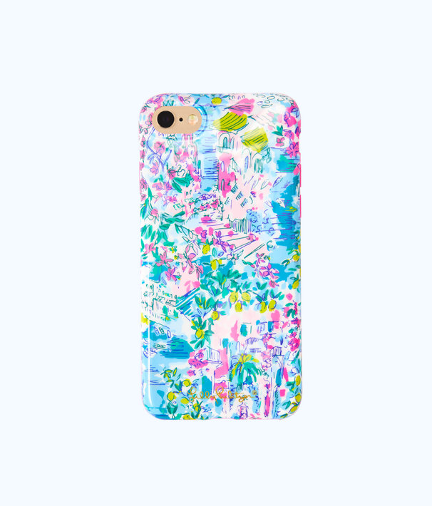 iPhone 7/8 Classic Case, Multi Postcards From Positano Iphone 7/8 Class, large