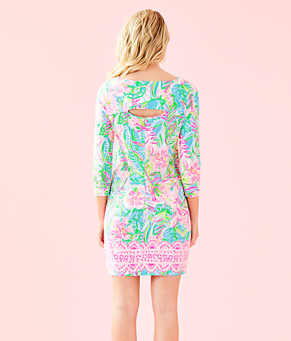 Hollee Dress, Multi Pop Up Lilly Of The Jungle Reduced Engin, large 1