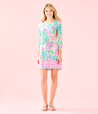 Hollee Dress, Multi Pop Up Lilly Of The Jungle Reduced Engin, large 3