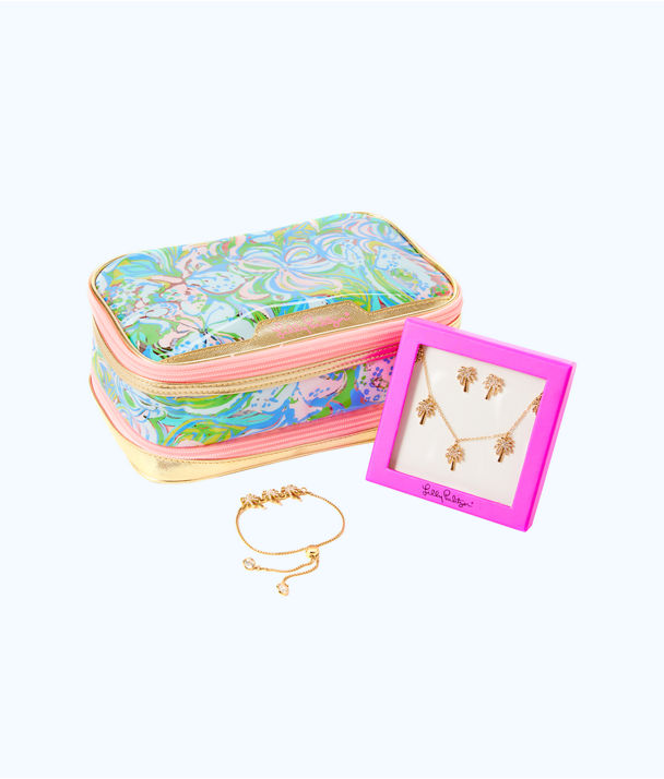 Chic Travel Jewelry Gift Box Set, Multi, large