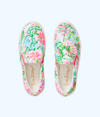 Julie Sneaker, Multi Pop Up Lilly Of The Jungle Accessories, large