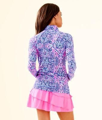 UPF 50+ Luxletic Hadlee Jacket, Pink Tropics Call My Shell Phone, large