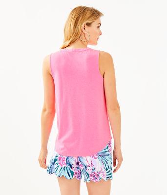 Raisa Top, Pink Tropics, large 1