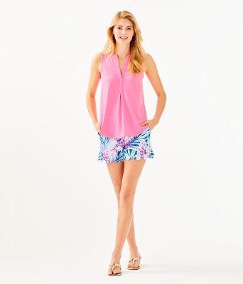 Raisa Top, Pink Tropics, large 2