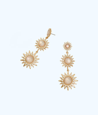 Star of the Sea Earrings, Resort White, large