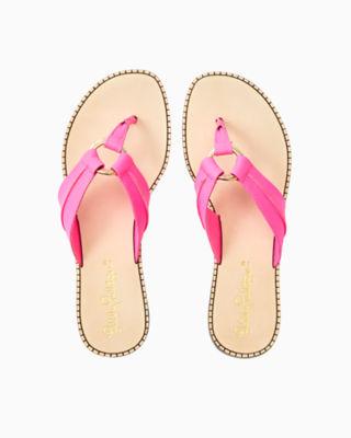 McKim Sandal, Pink Tropics, large 0