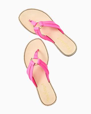 McKim Sandal, Pink Tropics, large 2