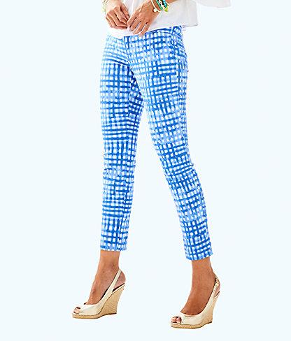 "29"" Kelly Ankle Length Skinny Pant, Bennet Blue Feelin Beachy, large"