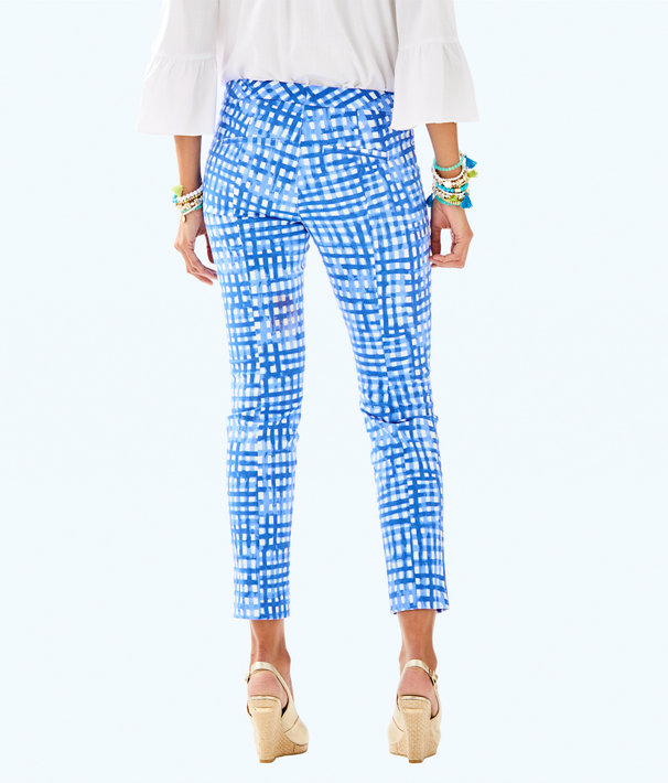 "29"" Kelly Ankle Length Skinny Pant, Bennet Blue Feelin Beachy, large"