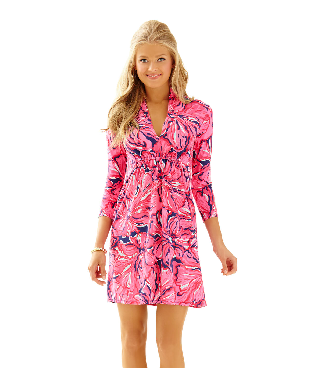 Lilly Pulitzer Alexandra Empire Waist Dress