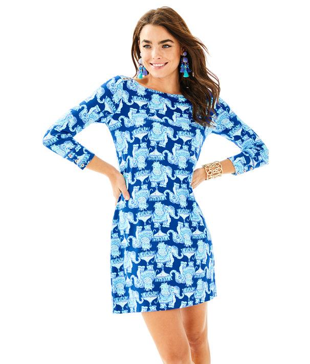 UPF 50+ Sophie Dress, Deep Indigo Joy Ride, large