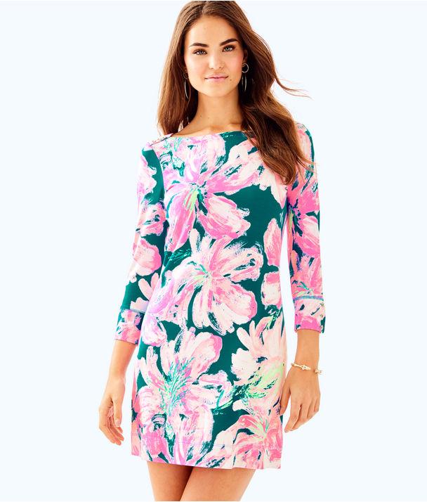 UPF 50+ Sophie Dress, Tidal Wave Pans Garden, large