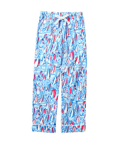 Printed Pajama Pant- Red Right Return, Resort White Red Right Return Small, large