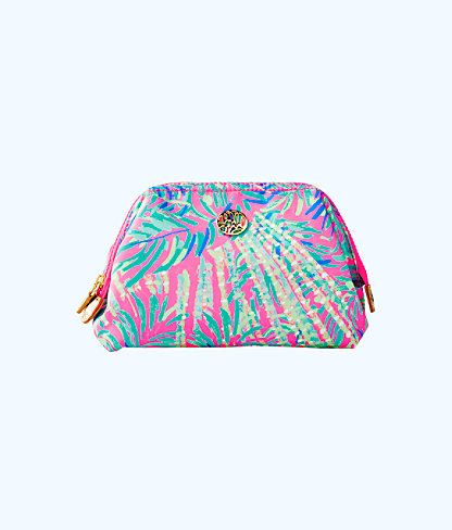Waterside Cosmetic Case, Pink Sunset Coco Breeze, large