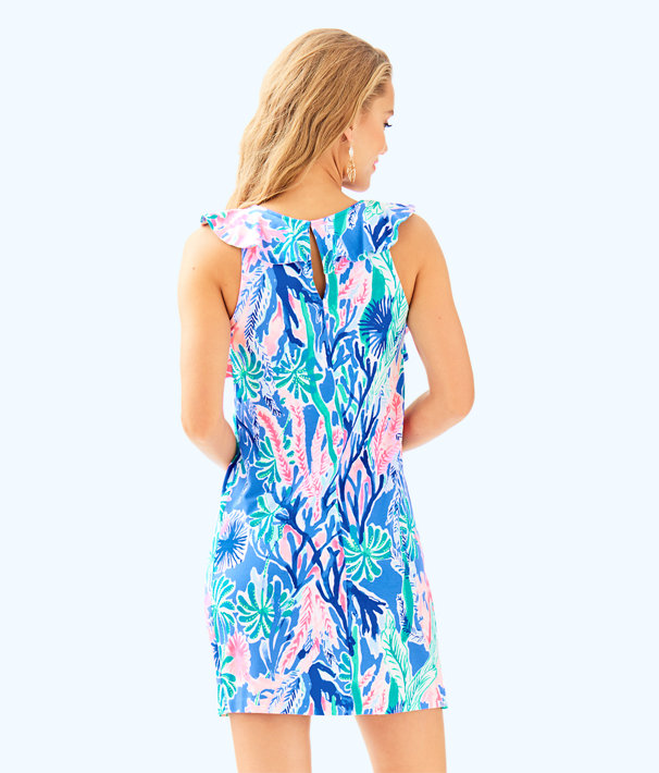 Esmeralda Dress, Multi Jet Stream, large