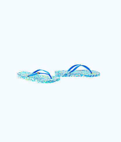 Pool Flip-Flop, Bennet Blue Race To The Wave Shoe, large