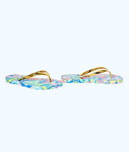 Pool Flip-Flop, Bennet Blue Surf Gypsea Shoe, large