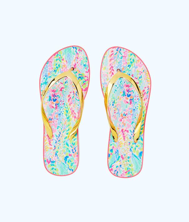 Pool Flip-Flop, Multi Catch The Wave Shoe, large