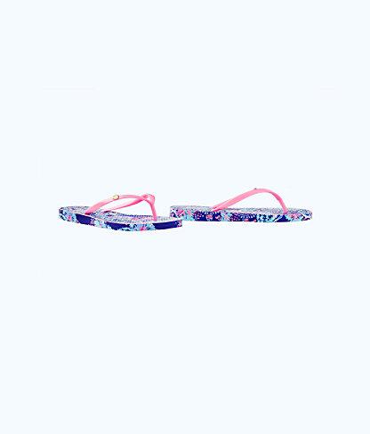 Pool Flip-Flop, Twilight Blue Gypsea Girl Shoe, large