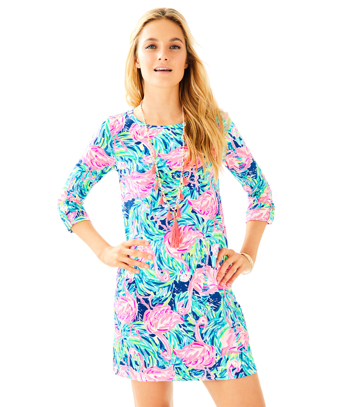 Lilly Pulitzer Linden A-Line T-Shirt Dress