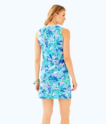Sleeveless Essie Dress, Bennet Blue Celestial Seas, large 1