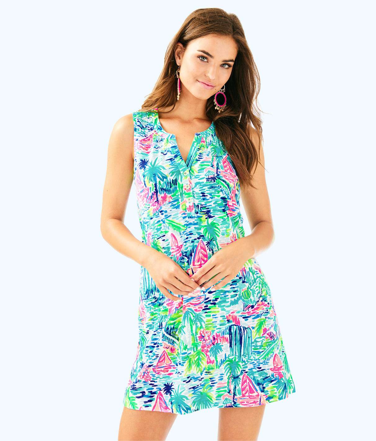 Lilly Pulitzer Lilly Pulitzer Womens Sleeveless Essie Dress