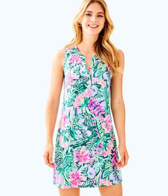 Sleeveless Essie Dress, Multi Slathouse Soiree, large