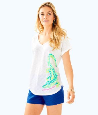 Colie T-Shirt, Multi Kiawah Destination Graphic, large 0