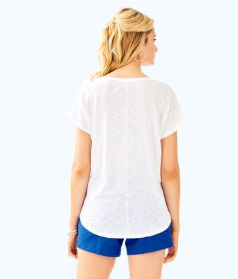 Colie T-Shirt, Multi Kiawah Destination Graphic, large 1