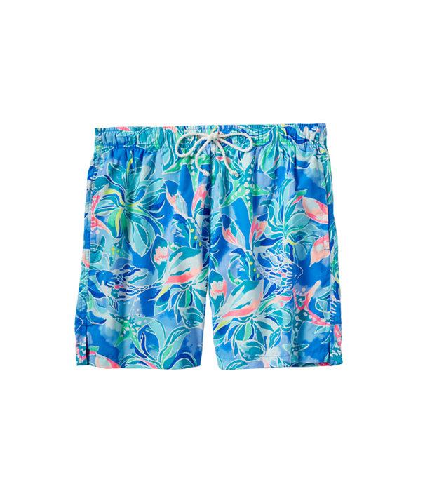 Mens Capri Swim Trunk, , large
