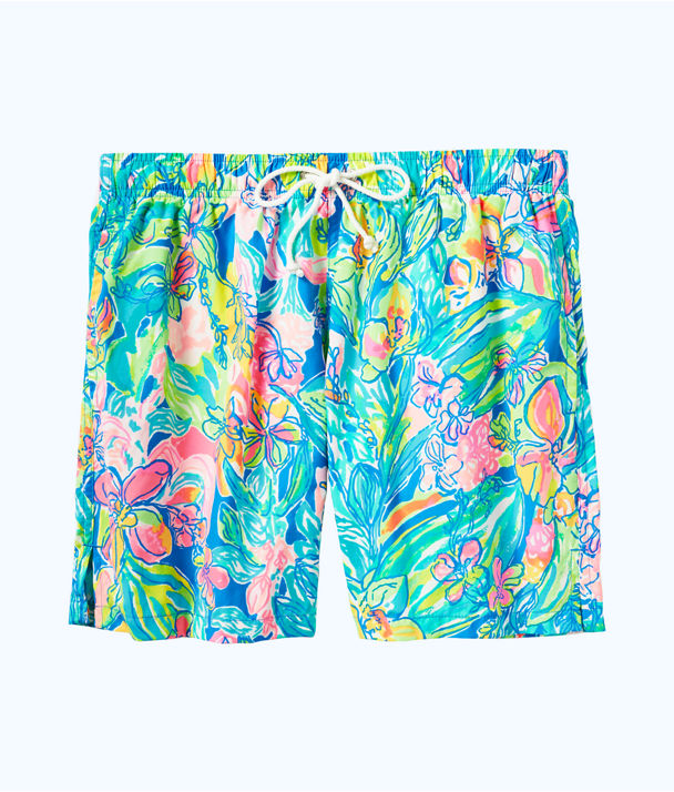 Mens Capri Swim Trunk, Bennet Blue Surf Gypsea Swim, large
