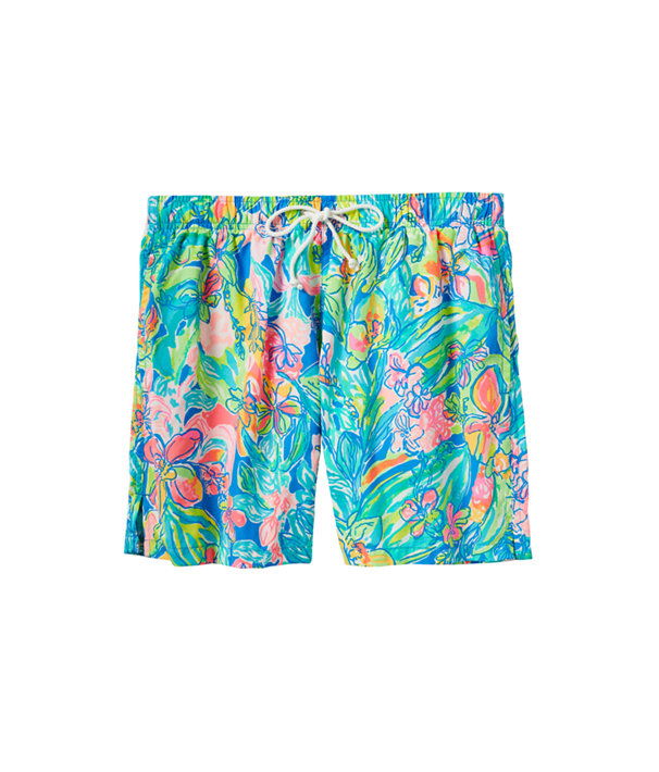 Mens Capri Swim Trunk, Bennet Blue Surf Gypsea Swim, large