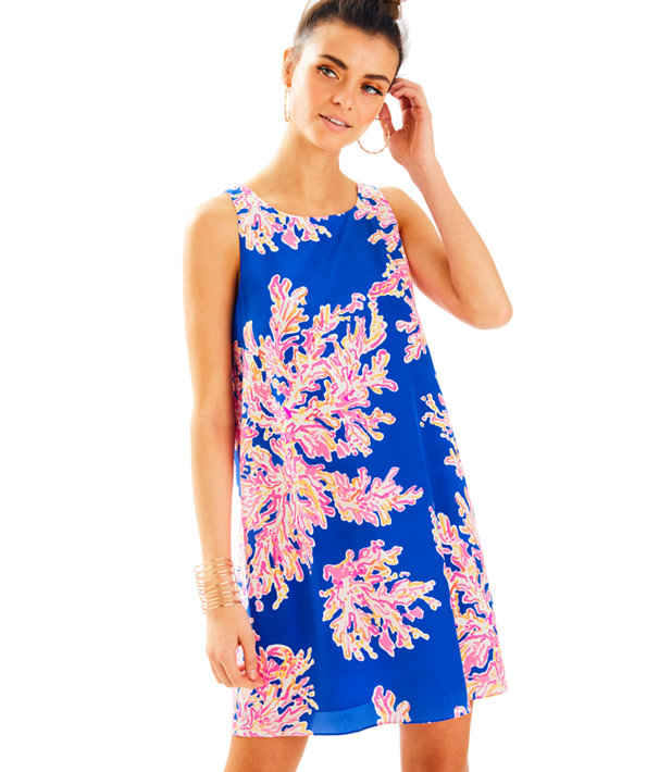 Jackie Shift Dress, , large
