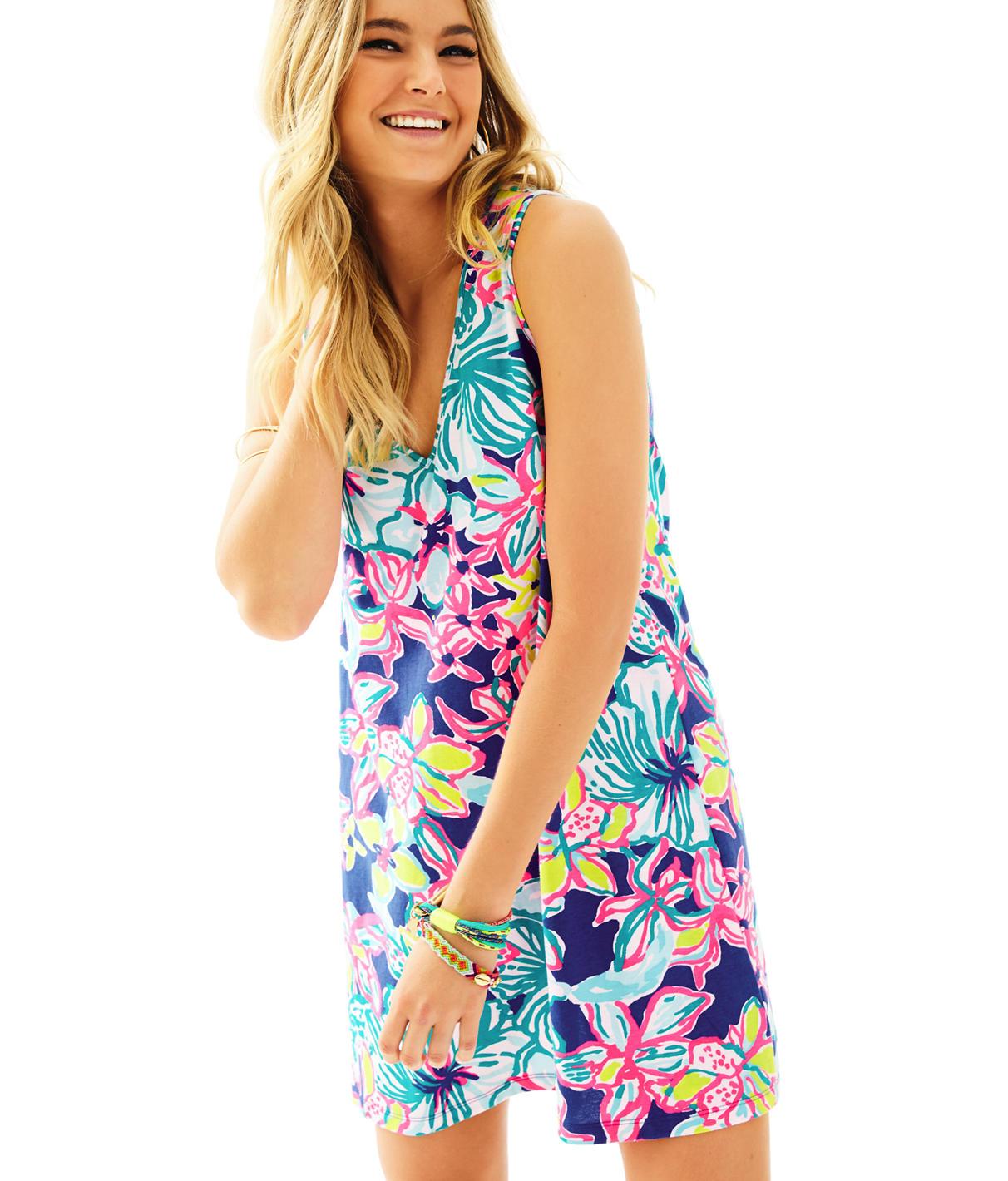 Lilly Pulitzer Blythe V-Neck Swing Dress
