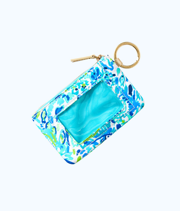 Key ID Card Case, Bennet Blue Race To The Wave Accessories Small, large