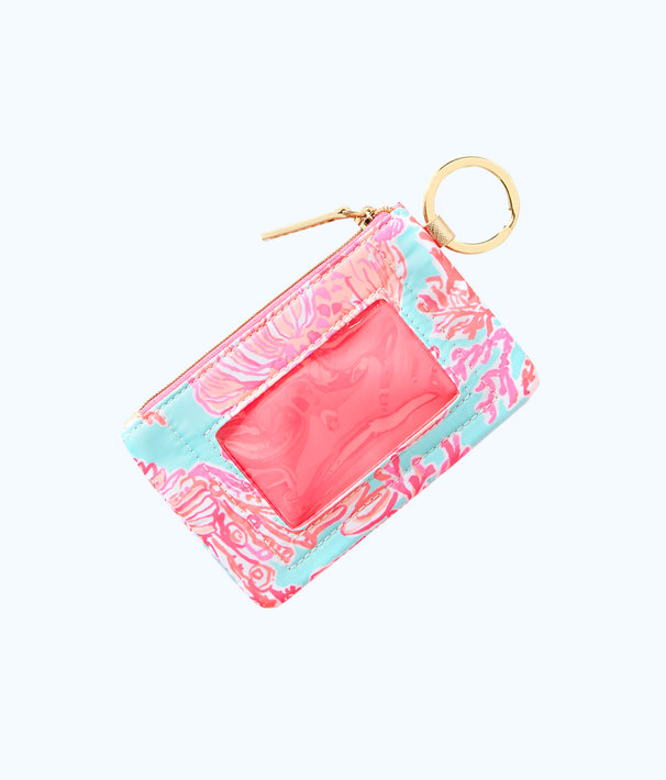 Key ID Card Case, Seasalt Blue Shell We Dance Accessories Small, large