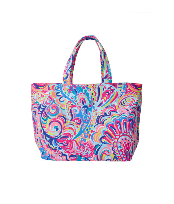 Palm Beach Tote - Psychedelic Sushine, Multi Psychedelic Sunshine Accessories, large