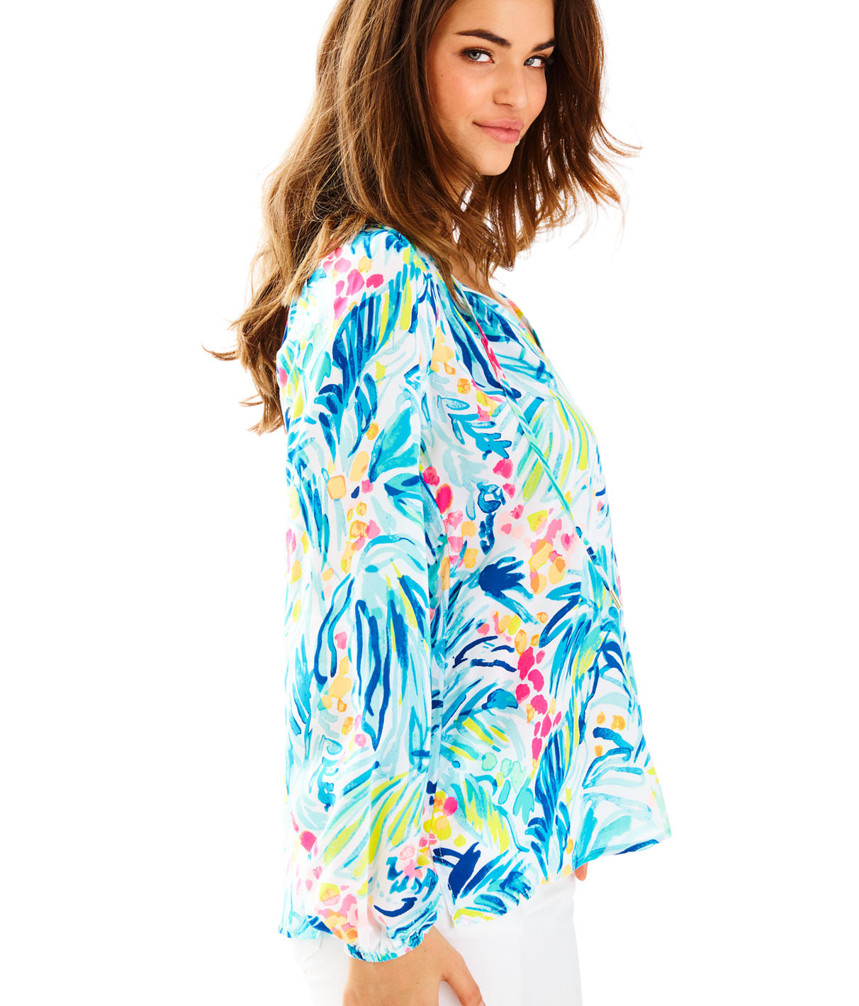 Lilly Pulitzer Lilly Pulitzer Womens Willa Tunic Top