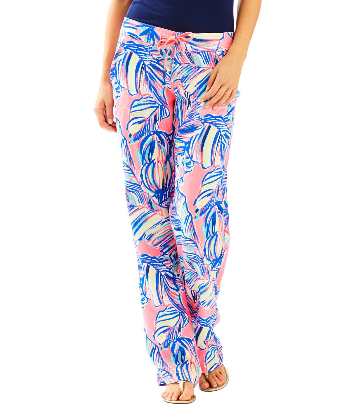 Lilly Pulitzer Galley Linen Pant