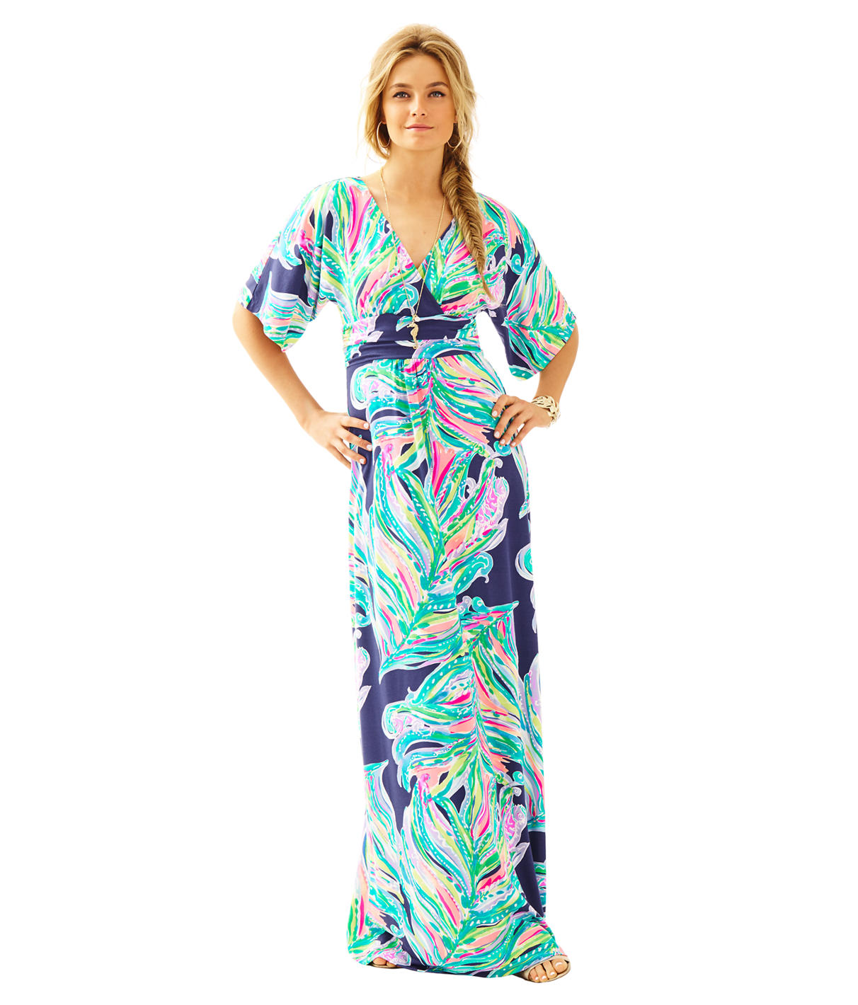 Lilly Pulitzer Lilly Pulitzer Womens Parigi Maxi Dress