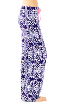 Knit PJ Pant, Bright Navy Tons Of Fun, large 2