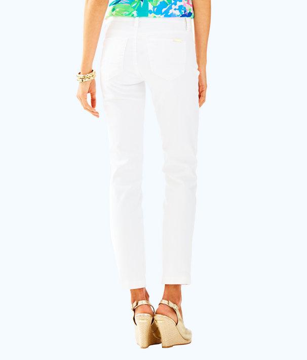 "26.5"" South Ocean Crop Jean, Resort White, large"