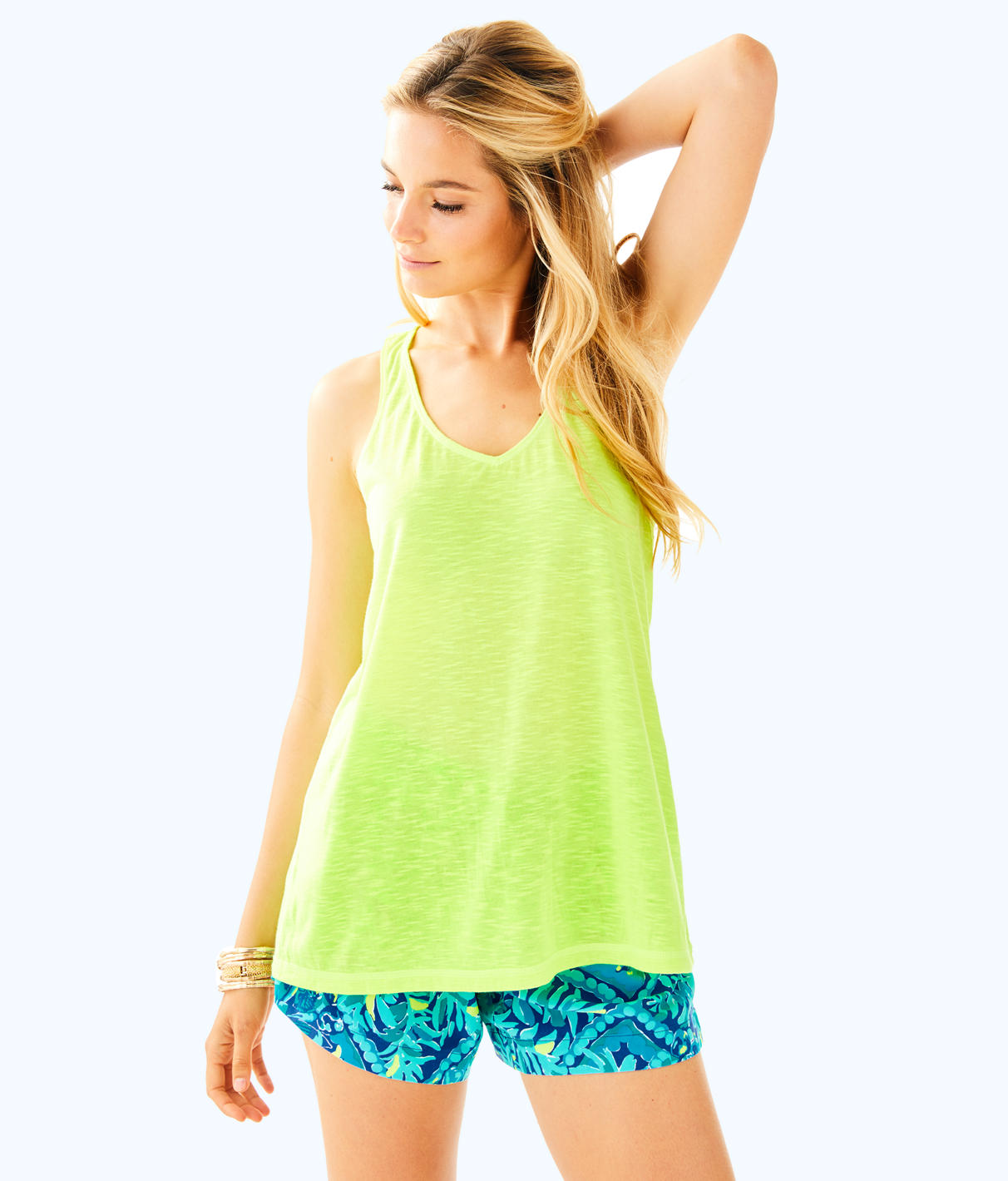 Lilly Pulitzer Lilly Pulitzer Womens Luxletic Anisa Tank Top