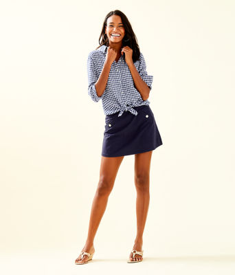 Madison Skort, True Navy, large 3