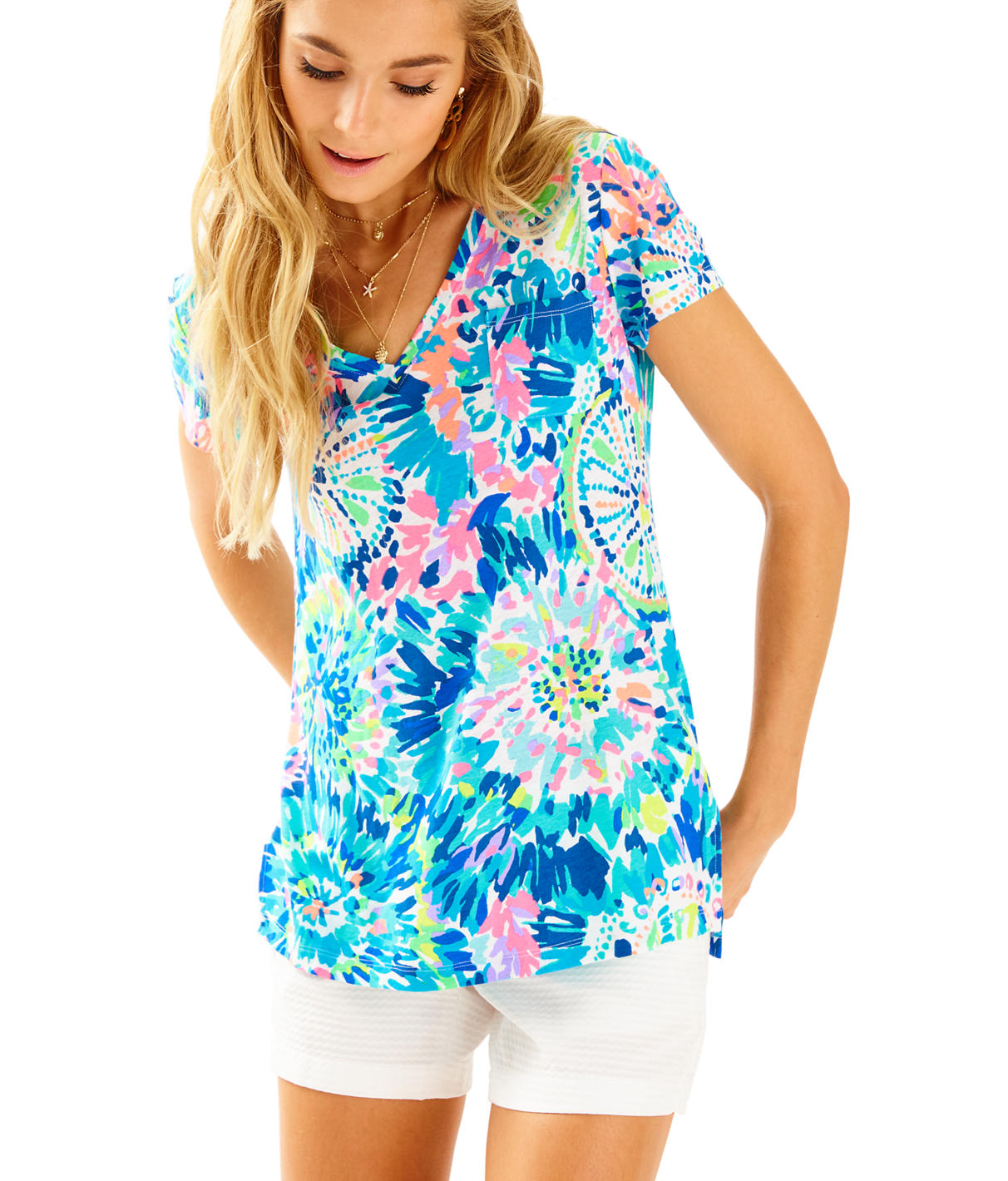 Lilly Pulitzer Meredith Short Sleeve Tee