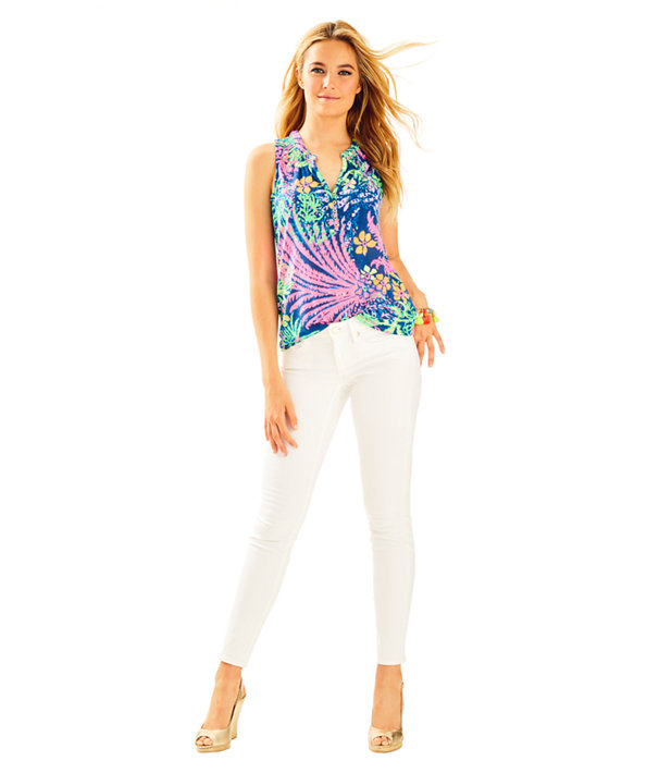 "31"" South Ocean Skinny Jean, Resort White, large"